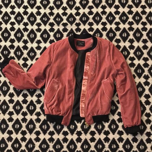 Love Tree Jackets & Blazers - Love Tree crushed velvet jacket